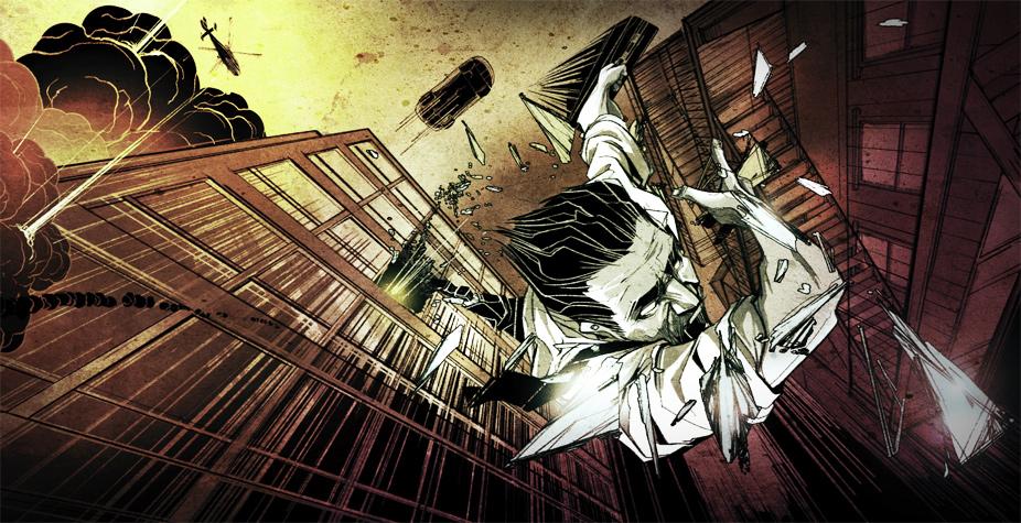 Comic-Illustration